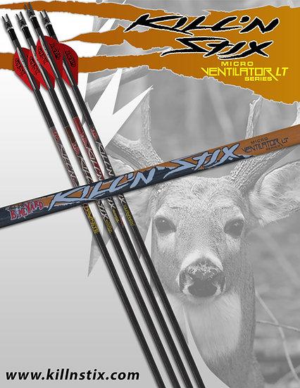 Kill'n Stix ™  Micro LT Series (6 Pack)