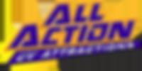 All Action UV Attractions Logo