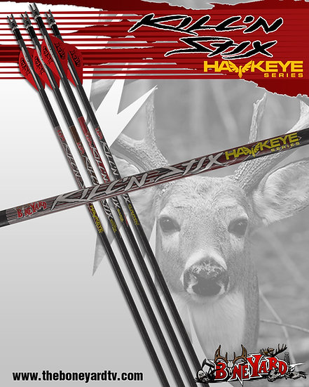 Kill'n Stix ™  Hawkeye Series (6 Pack)