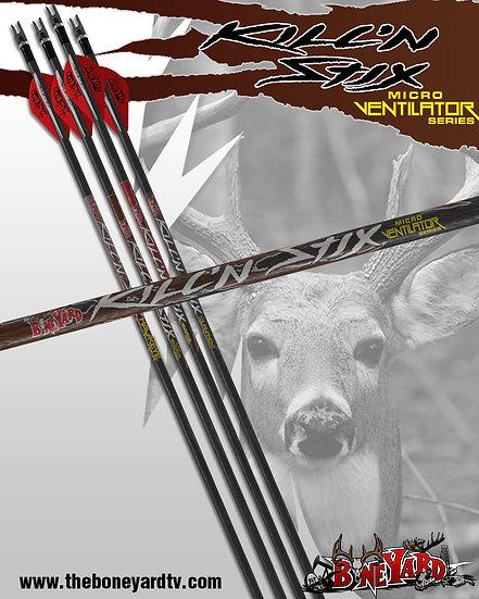 Kill'n Stix ™  Micro Ventilator Series (6 Pack)