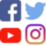 Social Media Icons, Connect with Sam Salerno on Facebook, Twitte, Youtube, Instagram