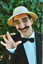Groucho, DiFranco Entertainment, live entertanment, impersonations, Comedy