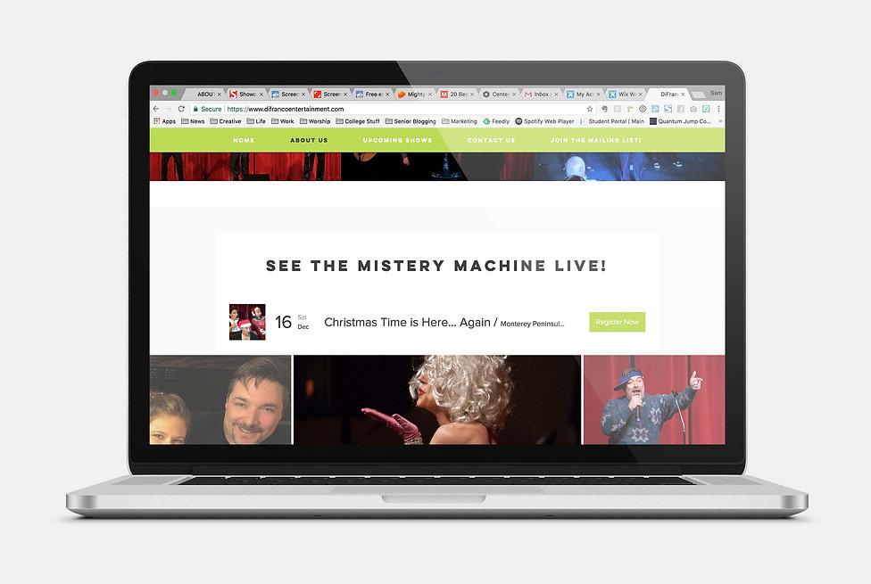The Mistery Machine, Show Registration Demo
