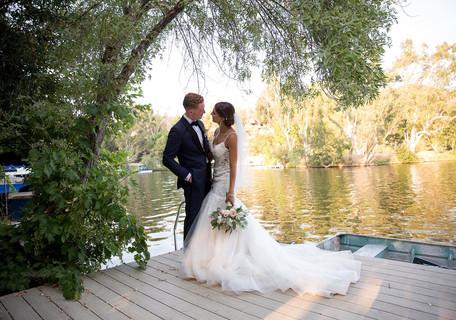 Romance at the lake