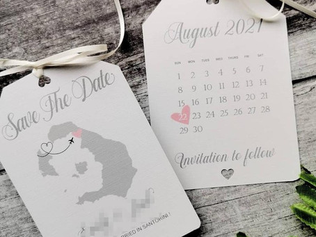 Super Cute Destination Wedding Invitations & Save the Date
