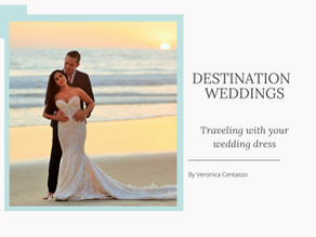 How to travel with your Wedding Dress to your Destination Wedding