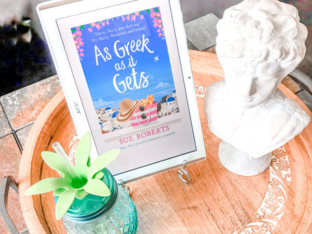 Currently Reading: As Greek as it Gets by Sue Roberts