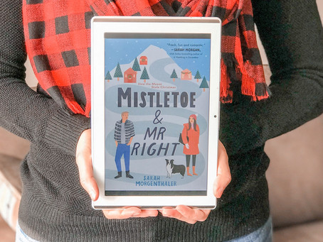 Reviewing Mistletoe and Mr. Right by Sarah Morgenthaler