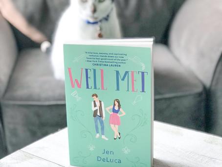 Swooning over Jen DeLuca's Well Met