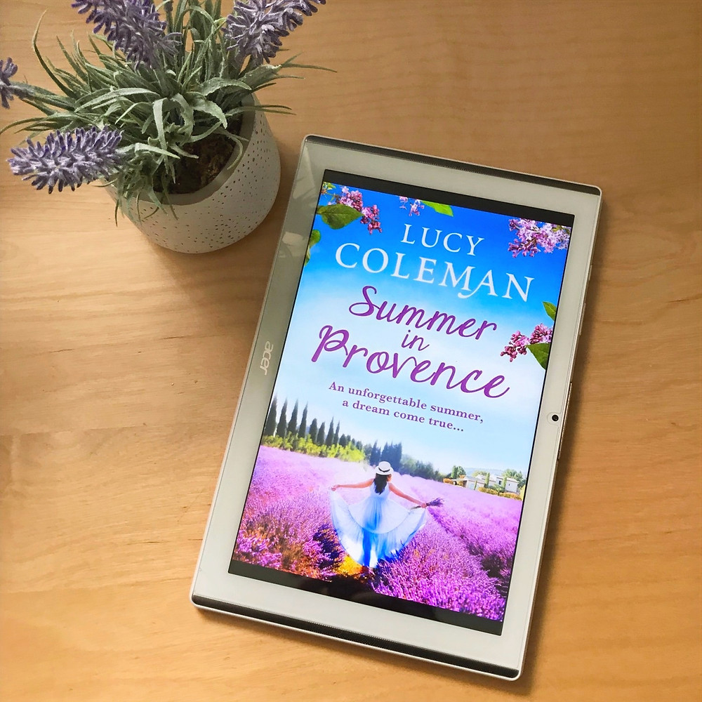 Summer of Provence book cover