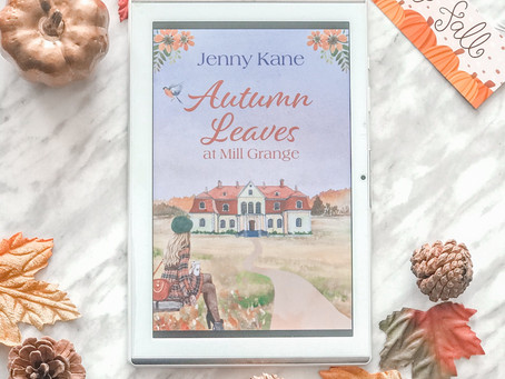 Reviewing Autumn Leaves at Mill Grange by Jenny Kane