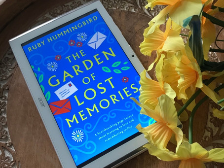 Books-on-Tour: The Garden of Lost Memories by Ruby Hummingbird