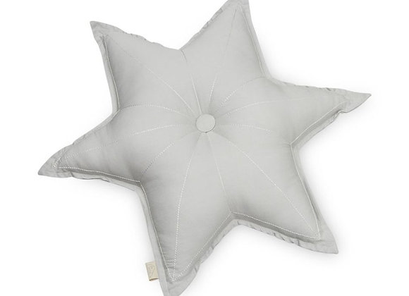 Cam Cam - Sternen Kissen grau