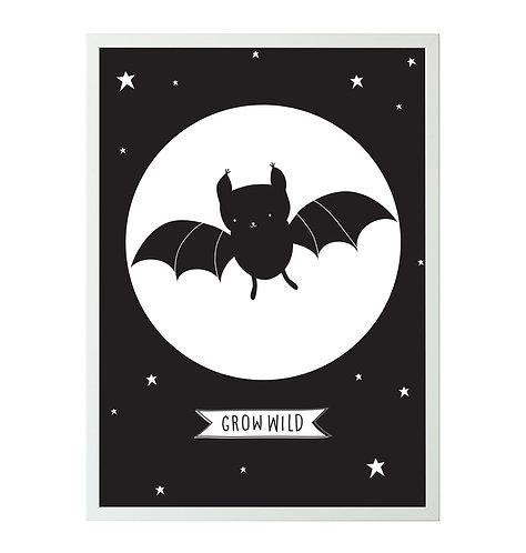 Poster Fledermaus