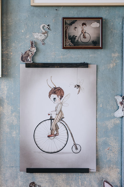 Mrs Mighetto - Mr. John 50 x 70 cm