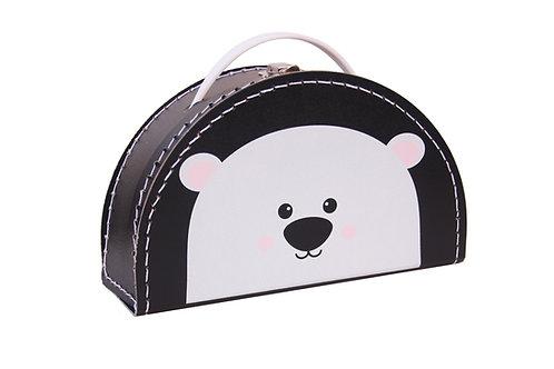 Kids Boetiek - Suitcase Polarbär schwarz