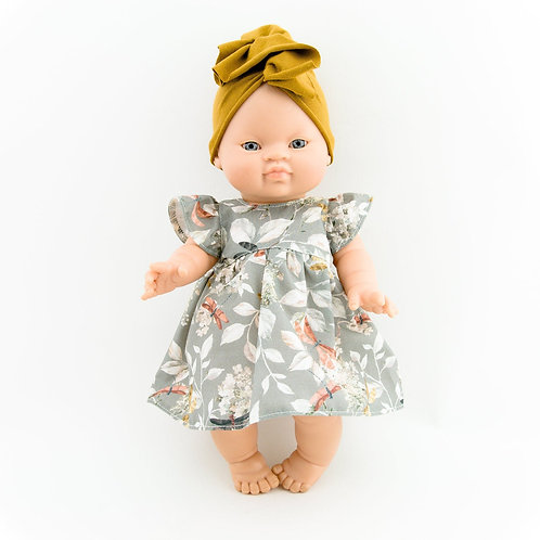 Paola Reina - Puppenkleid mit Turban