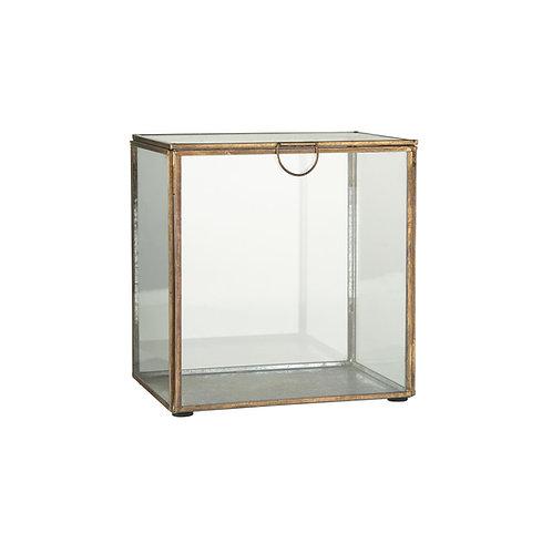 Glasschachtel mit Deckel Hoch XL