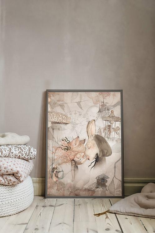 Mrs Mighetto - The forgotten Tivoli 50x70