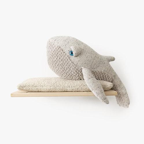 The Whale Original - 62 cm Grau