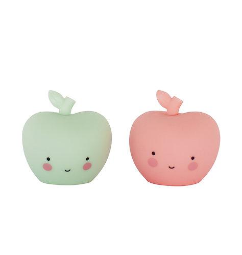 Mini Kollektion: Apfel in rosa und mint
