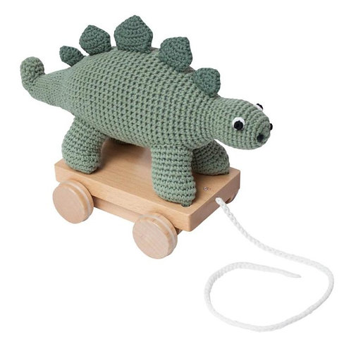 Sebra - Häkel-Nachziehtier Dino