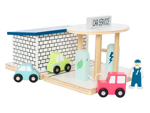 Garage für Auto Service von Jabadabado