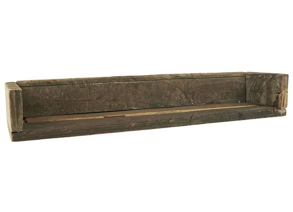 Holzregal mit Kante UNIKA 60cm