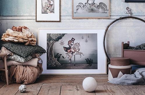 Mrs Mighetto - Mr. Frank 70 x 50 cm