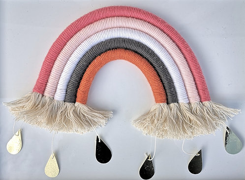 Regenbogen mit Tropfen Grösse L
