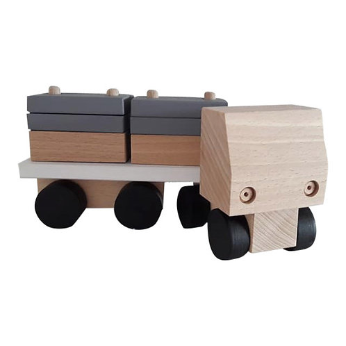 Kids Boetiek - Holz Truck monochrome