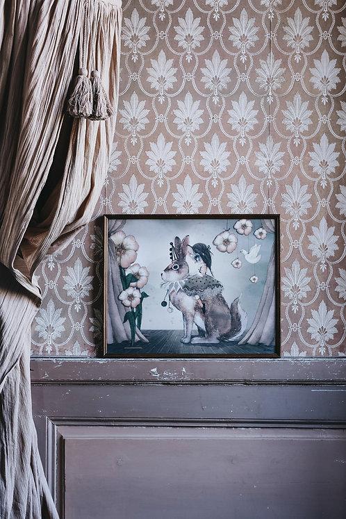 Mrs Mighetto - Miss Poppy 50 x 40 cm