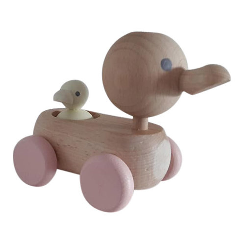 Kids Boetiek - Ente mit Baby pastel rosa