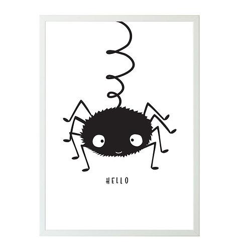 Poster Spinne