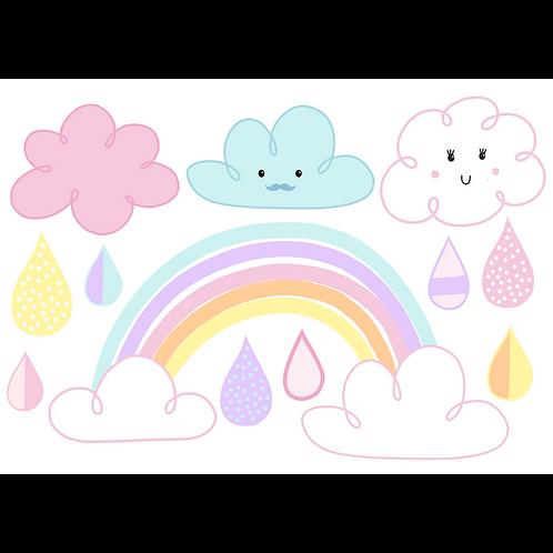 Yumbox Sticker Regenbogen