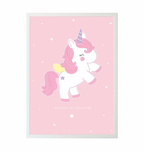 A little lovely Company - Poster Unicorn