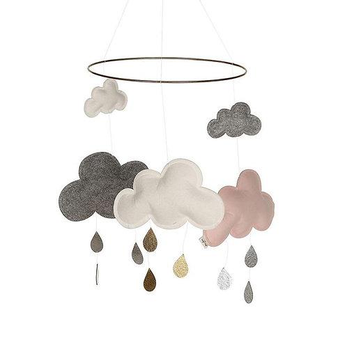 Konges Sløjd - Wolken Mobile Pinkberry
