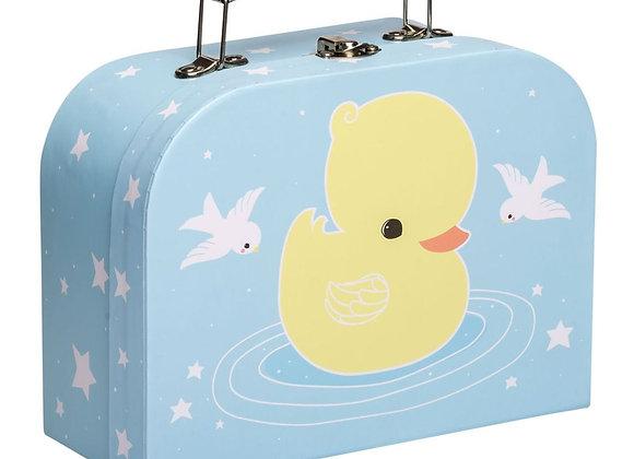 A little Lovely Company - Mini Spielzeugkoffer kleine Ente