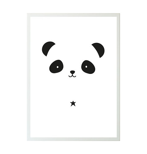 A little Lovely Company - Poster Panda 50x70
