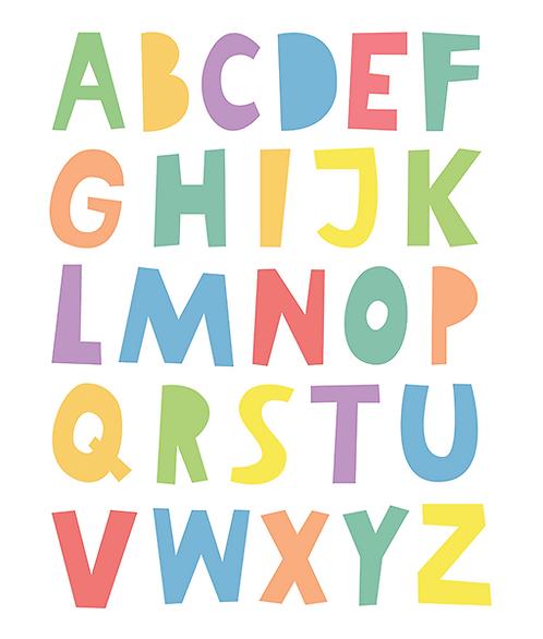 "Mini Learner - Poster ""ABC"""