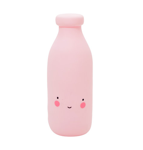 Little light: Milchflasche in rosa