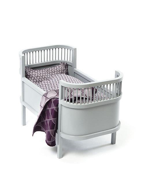 Smallstuff - Doll Bed Rosalina Grau