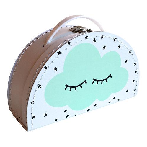Huusje - Koffer Wolke mint