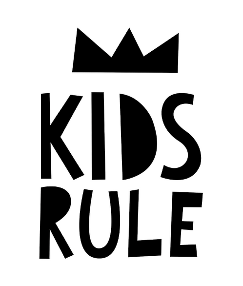 "Mini Learners - Poster ""KIDS RULE"""