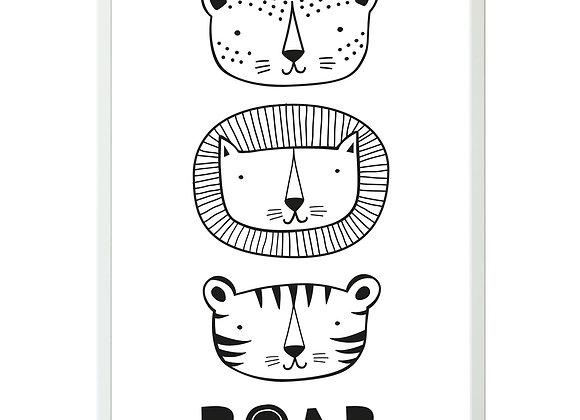 """Poster """"ROAR"""""""