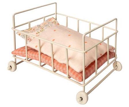 Babybett aus Metall - Maileg
