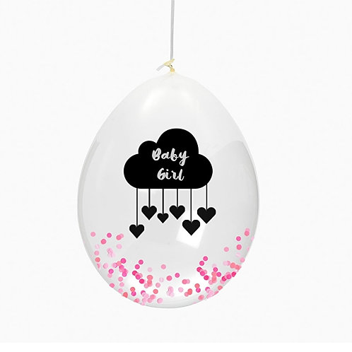 "Huusje - Ballon ""Baby girl"""