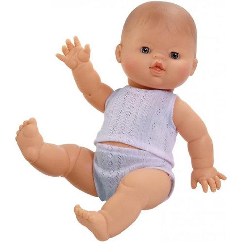 Paola Reina - Europäische Puppe Junge mit Unterwäsche