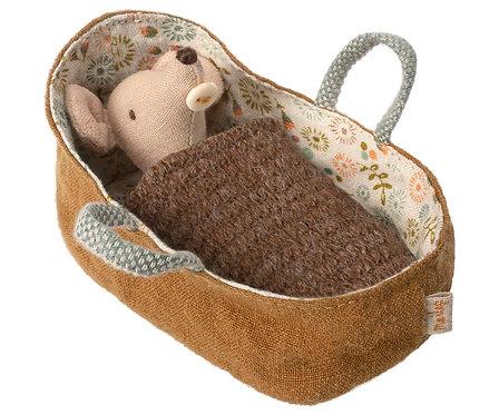 Baby Maus in Tragtasche - Maileg