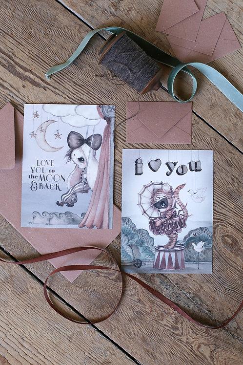 Mrs Mighetto - 2-Pack Karten